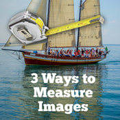 How to measure online images